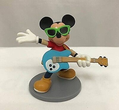 Disney ROCKSTAR MICKEY MOUSE Cake TOPPER Toy Mickey Mouse & Friends NEW - Rockstar Cake Toppers