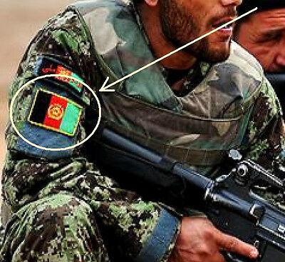 KANDAHAR WHACKER ELITE JTF AFGHAN PARTNERING UNIT APU SSI: AFGHAN FLAG new size