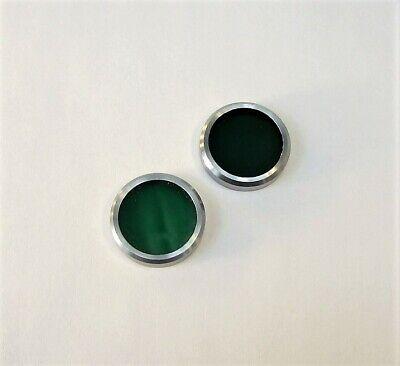Unitron Microscope Green Optical Filters Lot Of 2