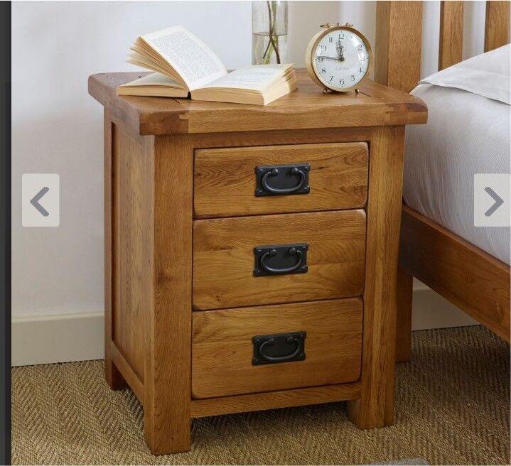 Oak Furniture Land Bedside Table In Aldershot Hampshire Gumtree