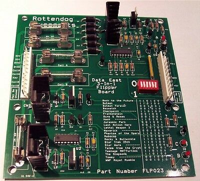 Brand New FLP023 Flipper Board for Data East and SEGA pinball machines