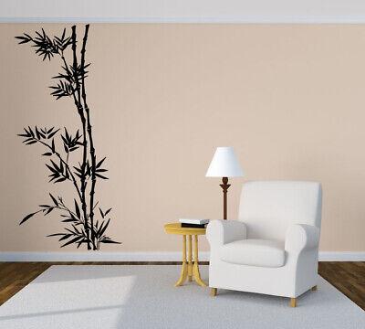 Bamboo Wall Sticker - Vinyl Sticker Bamboo Tree Forest Tropical Mural Decal Wall Art Decor ZX491
