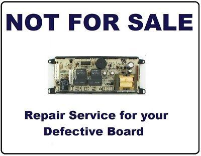 318010700 REPAIR SERVICE Frigidaire Oven / Range Control Board