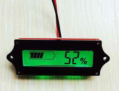 12v lead acid battery indicator Acid Battery Capacity Tester LCD meter Practical