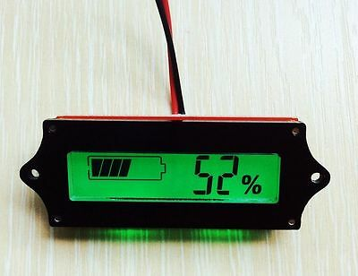 12v lead acid battery indicator Acid Battery Capacity Tester LCD meter IFACA