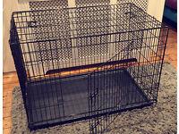 Lazy bones dog crate