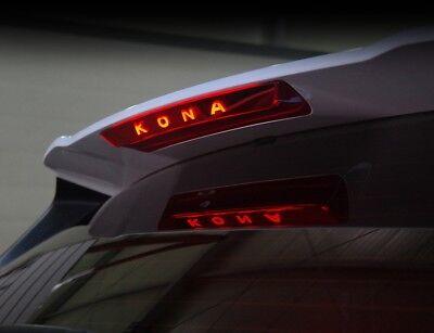 1Rear Spoiler Auxiliary Stop Lamp Mask Molding Cover For Hyundai Kona 2018~2019+