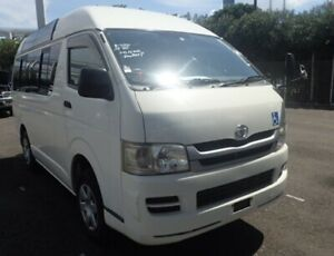 2008 Toyota 4WD Hiace LWB Van, High-Roof AUTOMATIC, Turbo Diesel 1kd, panoramic windows!!!  Camper?? Yorklea Richmond Valley Preview