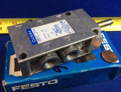 Festo Mfh-5-14 Solenoid Valve Series 0489