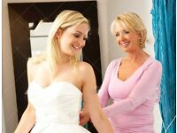 Full/Part time Sales Assistant required for a busy Bridal Store in Edinburgh