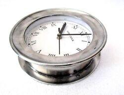 LARGE - SHIP'S CLOCK – Marine WALL Clock – ROMAN - BOAT / NAUTICAL(5009D)