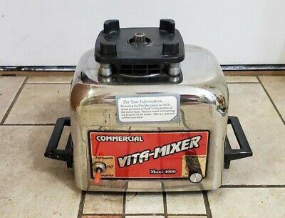 Vita-mix Commercial Vita-mixer Maxi-4000 Blender Base Motor Only 479044