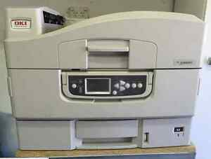 Oki C9650 A3 network colour printer with stand Chadstone Monash Area Preview