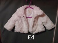 baby girl coat up to 3 months