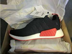 Adidas NMD R2 Red-Black Sneaker UK10/US10.5 South Melbourne Port Phillip Preview