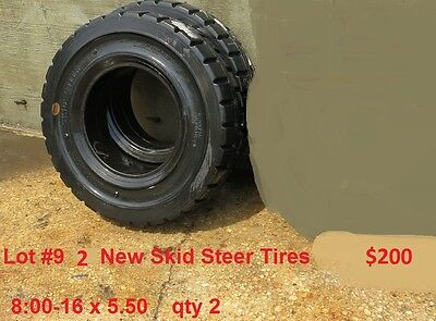 Skid Steer Forklift Tires 800-16 36x12x30 28x14x22 750-16 32-12.1-15 Fork Lift
