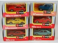 Burago model cars