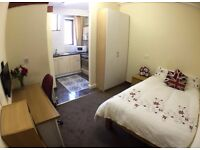 STUDIO Apartment 10 -Millennium Court Accommodation-5min walk Bradford Uni (Student or Professional)