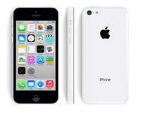 White iPhone 5c, 8 gb, Rogers, no contract *BUY SECURE*