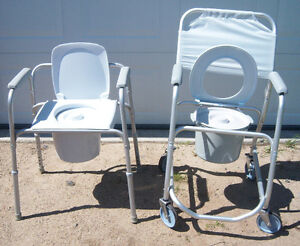 COMMODE CHAIRS -PLUS