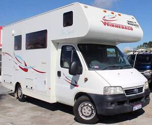 2005 DUCATO WINNEBAGO FREE SPIRIT 2.7L TURBO DIESEL MOTORHOME Cannington Canning Area Preview
