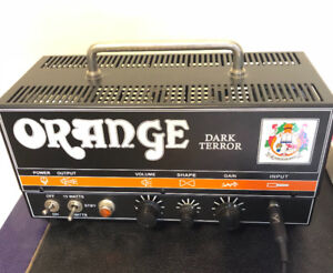 Orange Dark Terror 15W head