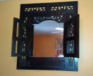 Solid Hardwood Mirror