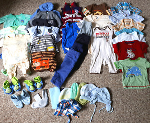 72 Items - 3-9 Month boy's clothing