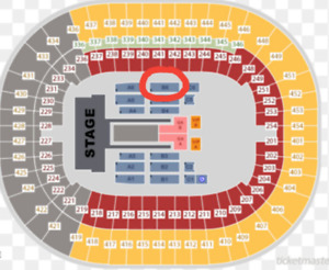 2 FLR (Face value) Beyonce Jay Z BC Place Oct 2 Row 15 Seat 3, 4