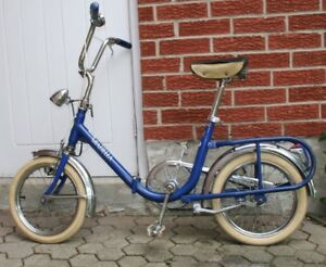 Collectible Vintage GRAZIELA Folding Bicycle..