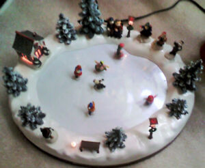 Christmas Decoration - Electrically powered skating Ice rink $75