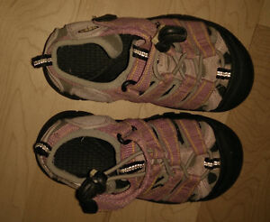 KEEN outdoor sandals, toddler size 11, kids size 3 and 4