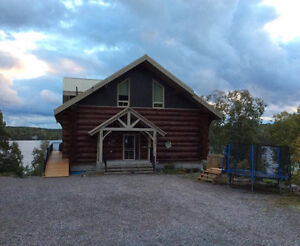 Waterfront Log Home  **3% to Buyer's Agent**
