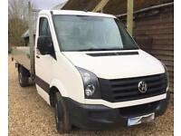 VOLKSWAGEN CRAFTER CR35 TDI Pick up Tipper 3500GVW White Manual Diesel, 2013