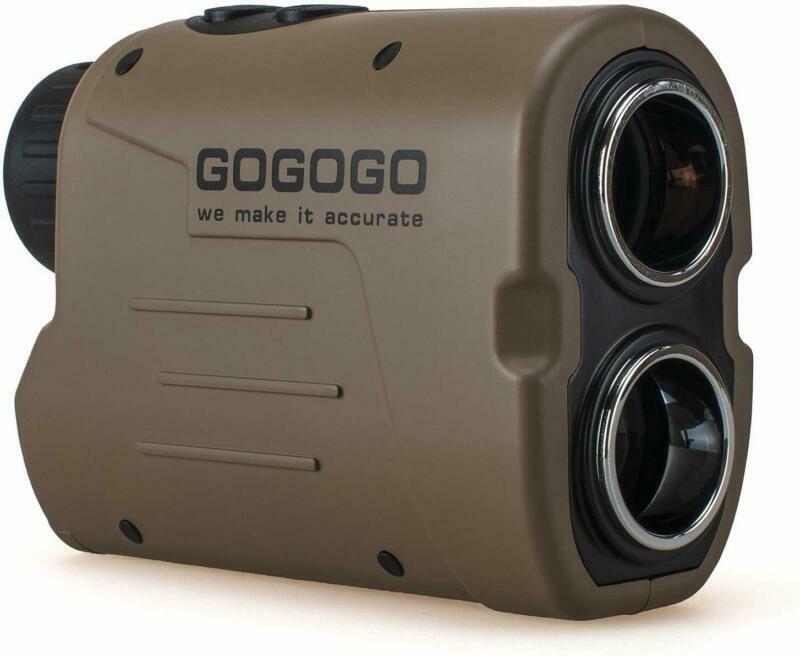 Gogogo Sport Laser Golf/Hunting Rangefinder 1200 Yards 6X Ma