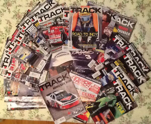 37 issues INSIDE TRACK MOTORSPORT NEWS for racing fans, latest,
