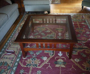 Arts & Crafts Style Coffee Table