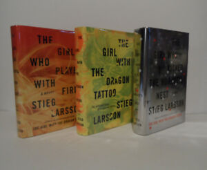 MILLENIUM TRILOGY - First American Edition Hardcovers