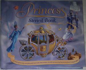 5 Classic Princess Fairytales Stencil Hard Cover Book