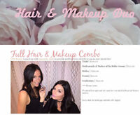 Full Hair & Makeup Services
