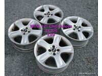 """BMW MINI Chili 17"""" 4x100 Alloy Wheels"""