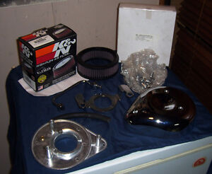 Complete Tear Drop Breather For 88cc Engines Incl.K&N Filter