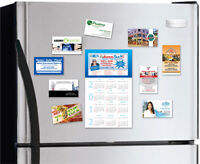 MAGNETIC BUSINESS CARDS - DESIGN & PRINT!!