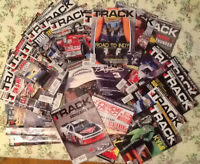 27 issues INSIDE TRACK MOTORSPORT NEWS for racing fans, latest,