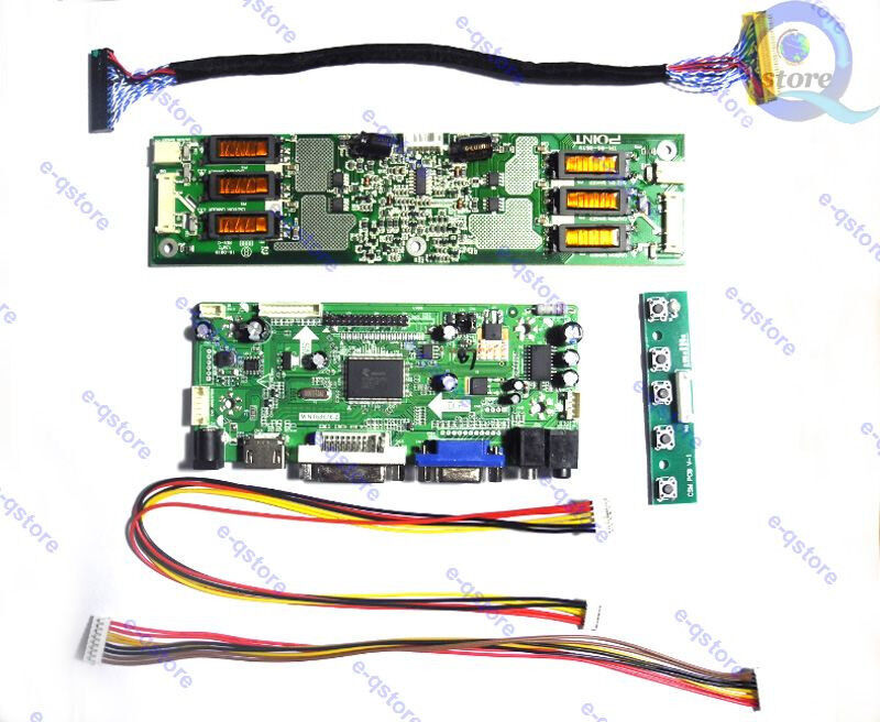 LCD LED LVDS driver Controller Board Kit For LTM240M2-L02 HDMI+DVI+VGA+Audio