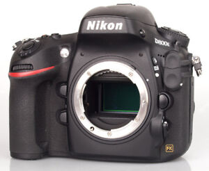 Nikon D800E One of the best camera.