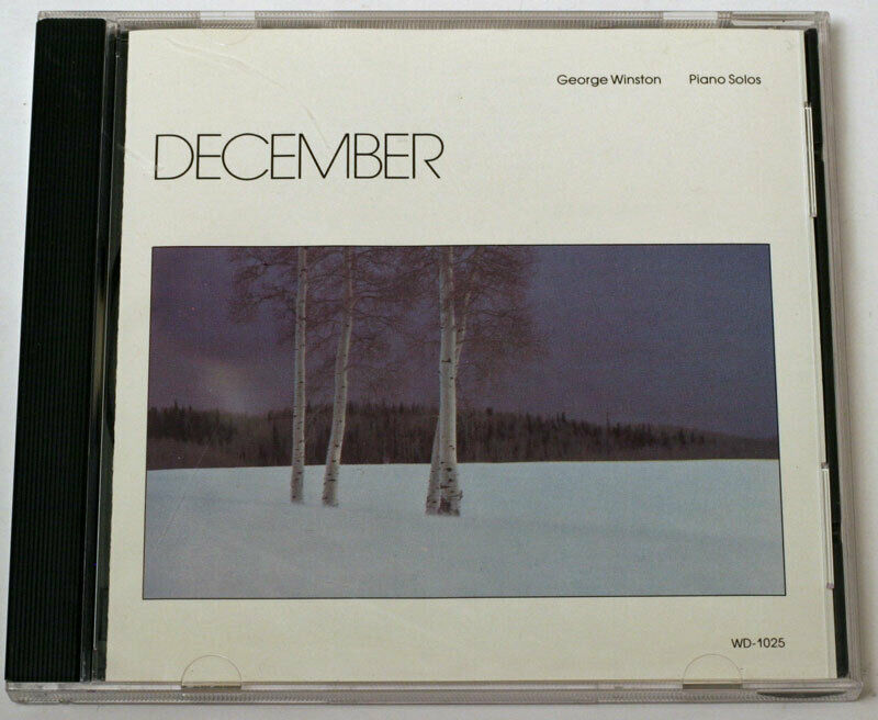 CD - George Winston - December - Windham Hill WD-1025 - $7.50