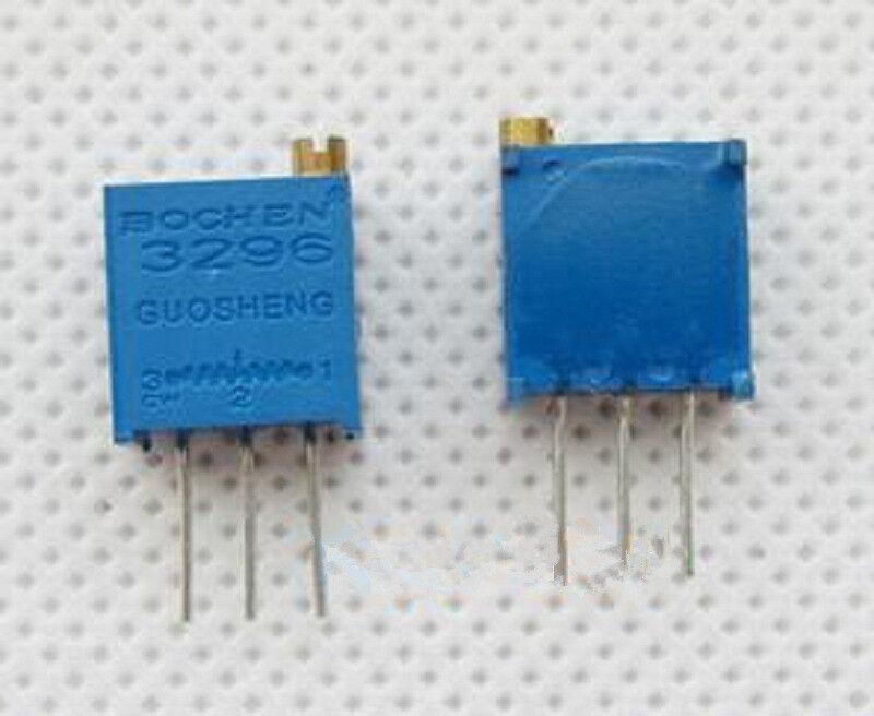 10 pcs New 3296W 50K 503 Potentiometer Variable Multiturn Trimmer Adjustable