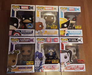 Funko Pop! Vinyl Figures Exclusives