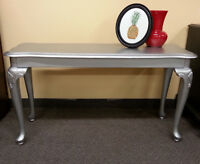 Entrance hall table - Metallic Silver     in Listowel